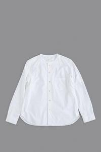 RINENOrganic Ox Band Collar Shirt - un.regard.moderne