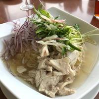 2018 冷製鶏スープ麺 - わたしの毎日