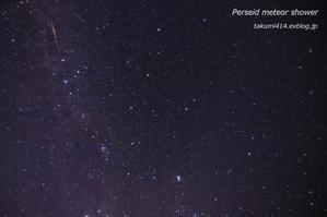 ペルセウス座流星群 2018 - 君がいた風景