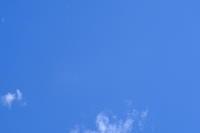 暑いので空を撮った。シミが写ってる。 - 平凡な日々の中で