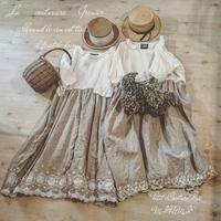 優しいスカラップレース♪ 離れ衿のサラsarash - MIFUMI*  Petite Couture Rie