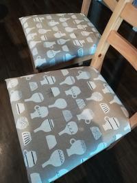 IKEAの椅子の座面をDIYで張り替え - いろんなところに出没中