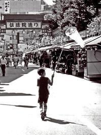 <成長の夏>2000年頃浅草 - 写真家藤居正明の東京漫歩景