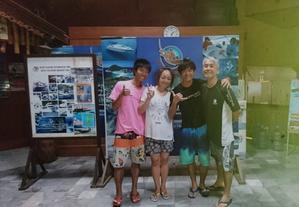 仲良し4人家族 - タイのタオ島から、たおみせブログ