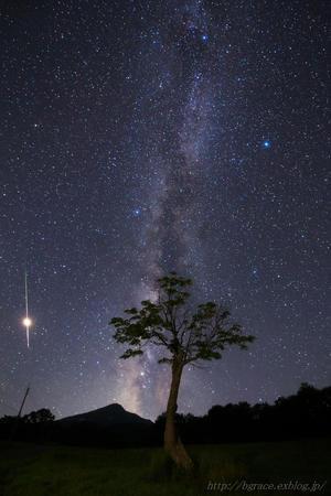 ペルセウス座流星群 2018 - 遥かなる月光の旅
