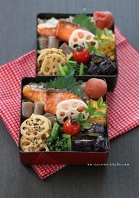 月曜鮭弁 ★ 台風が続々・・(´皿`;) - **  mana's Kitchen **