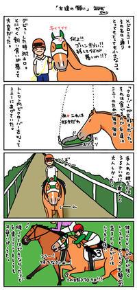 友達の馬のこと - おがわじゅりの馬房