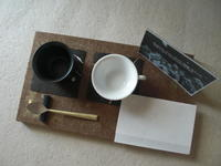 和紙を使ったコーヒーセッティング - HANATSUDOI