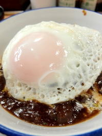 【久しぶりに】松屋 ブラウンソースエッグハンバーグ定食 650円【ハンバーグー】 - 続・食欲記