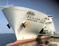 【「サンフラワー さつま」(大阪-志布志航路)新造船 】 - 神戸点描