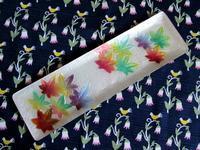 日本のモミジ柄七宝のペン皿 -  Der Liebling ~蚤の市フリークの雑貨手帖2冊目~