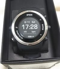 EPSON GPSランニングウォッチ J-350を買ってみました - やあしゅのブログっす