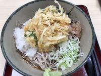 おろし蕎麦とタダのかき揚げ @ 箱根そば(橋本) - よく飲むオバチャン☆本日のメニュー