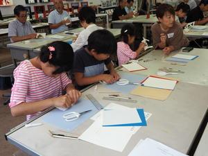 箱崎キャンバスお別れイベント内「折り紙建築ワークショップ」 - 有座の住まいる