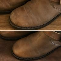【Before/After】ブーツケアAfter① - Shoe Care & Shoe Order 「FANS.浅草本店」M.Mowbray Shop
