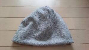 ニット帽子 -