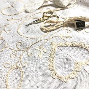 シュバルム刺繍(5) - 浜松の刺繍教室 l'Atelier de foyu の 日々
