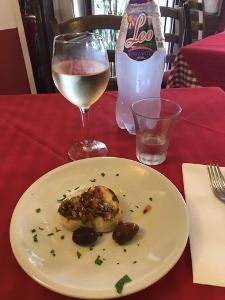 2017年イタリア回顧録 トローペアで赤玉ねぎを食べる③ - Mihoのイタリア料理教室Sestri Ponente