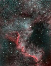 北アメリカ星雲さらに画像処理 - あぷらなーと
