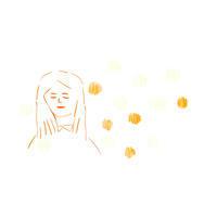 身近な人を思う顔 - イラストレーション ノート