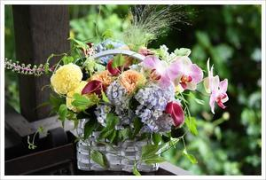 *お誕生日のアレンジメント* - Flower Firenze