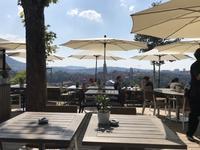 2018年8月  スイス: ベルン バラ公園のカフェレストランでまったり - Choco  Chip  Mint