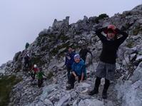2018 立山~剱岳 夏山縦走登山 2日目 - 雨 ときどき 晴れ