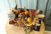 ワークショップのお知らせ 9.26 「にじいろのひつじ」さんでハロウィンのドライアレンジを作ろう - 北赤羽花屋ソレイユの日々の花