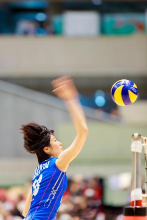 川島亜依美 ~岡山シーガルズ~ - Tatsuya Uehara Photo Blog S