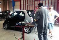 MCCスマート クーペ ロムチューニング(Remap)/451ForTwo ロムチューニング納車準備 - smart.ism 北九州