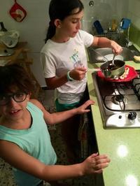 団子好き - ローマの台所のまわり
