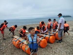 H30 夏休み大冒険・むつ湾アドベンチャー2018終わりました - 自然体験楽校 スキー楽校 青森自然塾