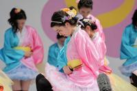2018広島FFきんさいYOSAKOIその6(安田女子高等学校ダンス部 蝶扇) - ヒロパンの天空ウォーカー
