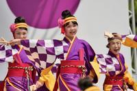 2018広島FFきんさいYOSAKOIその7(広島よさこい連 叶和) - ヒロパンの天空ウォーカー