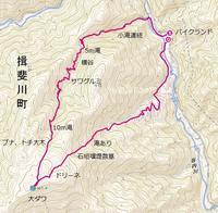 横谷〜大ダワ〜バイクランド右岸支流 - blog版 がおろ亭