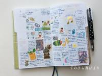 サブ手帳(ハイタイドnahe)7月ウィークリーページ - てのひら書びより