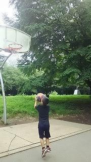 バスケ練習 - ~ワンパク六歳児子育て中~
