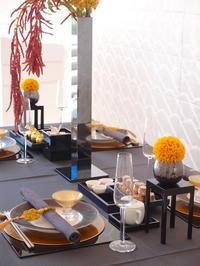 月の秋のお話とティーテーブル セミナー - Yoko Maruyama Tablecreation
