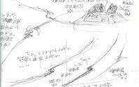 夢メモ(180731 ~7:41)「宇宙の法則」の破局曲線(スケッチ付き) - mohariza12メモ
