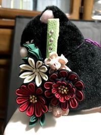 続いて友人の帯飾り - つまみんって三河弁