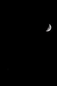 月と木星のランデブー〜ニコン応援団〜 - ライカとボクと、時々、ニコン。