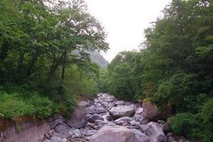 鏡平山荘まで -