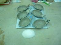 取っ手付き小鉢と取っ手付き小皿 - サンカクバシ 土と私の日記