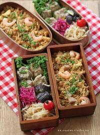 焼売とエビ炒飯 ✿ 野菜そば(๑¯﹃¯๑)♪ - **  mana's Kitchen **