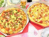 【8月16日】実家でピザ - ぶんこやゴハン