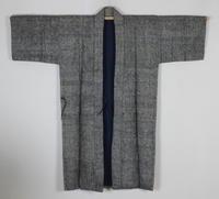 古布木綿紙縒り庄内野良着Japanese Antique Textile Koyori-paper Noragi - 京都から古布のご紹介