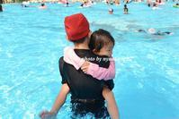 プール遊び - nyaokoさんちの家族時間