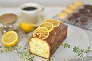 【レシピ】レモンと紅茶のパウンドケーキ、と楽しい帰省 - honey+Cafe