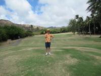 ハワイカイゴルフ2回目。 - rodolfoの決戦=血栓な日々