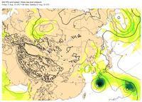 台風19号、台風20号、台風21号。 - 沖縄の風